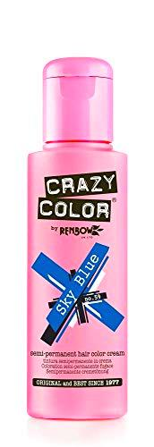 Crazy Color Sky Blue Nº 59 Crema Colorante del Cabello Semi-permanente