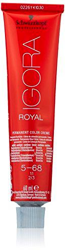 Schwarzkopf Igora Royal, Tinte Permanente, Tono 5-68, 60 ml